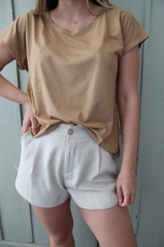 חולצת אנדי כאמל