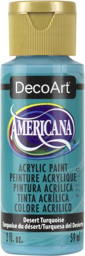"""צבע אמריקנה 59 מ""""ל Desert Turquoise DAO44"""
