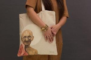 תיק שק - מהטמה גנדי