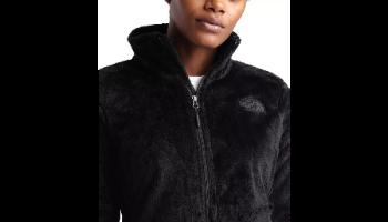 פליז מוברש נשים שחור של חברת THE NORTH FACE דגם OSITO