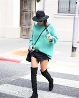 סוודר בלינה ירוק