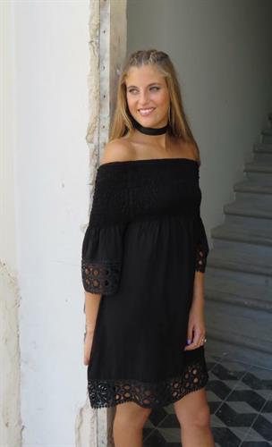 עותק של שמלת גיפיור - שחור