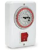 שעון שבת לדוד שמש על הטיח 560