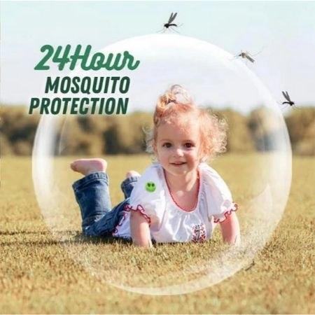 מדבקות טבעיות מעוצבות לדחיית יתושים (120יח')