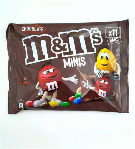 M&M minis brown
