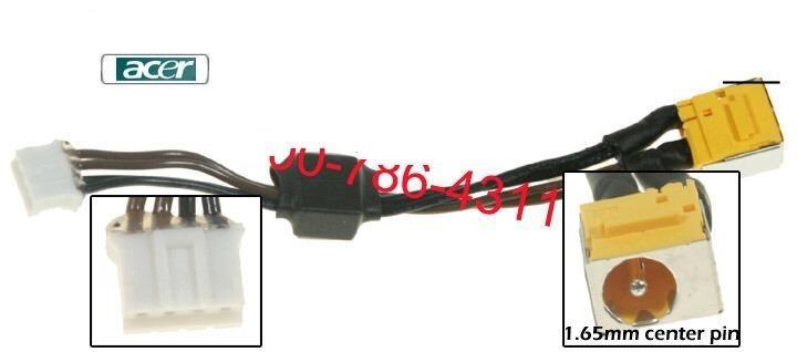 PJ047.6 - 1.65mm Acer Aspire 5715 7720 5715z 7720z DC Power Jack שקע טעינה למחשב נייד אייסר