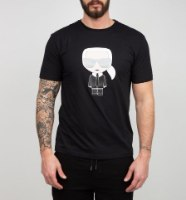 גברים   KARL LAGERFELD T-SHIRT CHARACTER BLACK