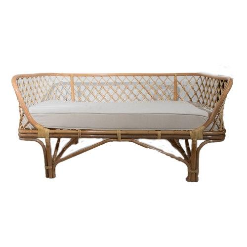 ספה מבמבוק + מזרון