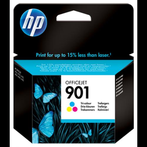 ראש דיו צבעוני מקורי HP 901