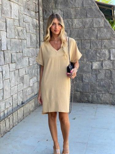 שמלת ליאן בז' THOMAS