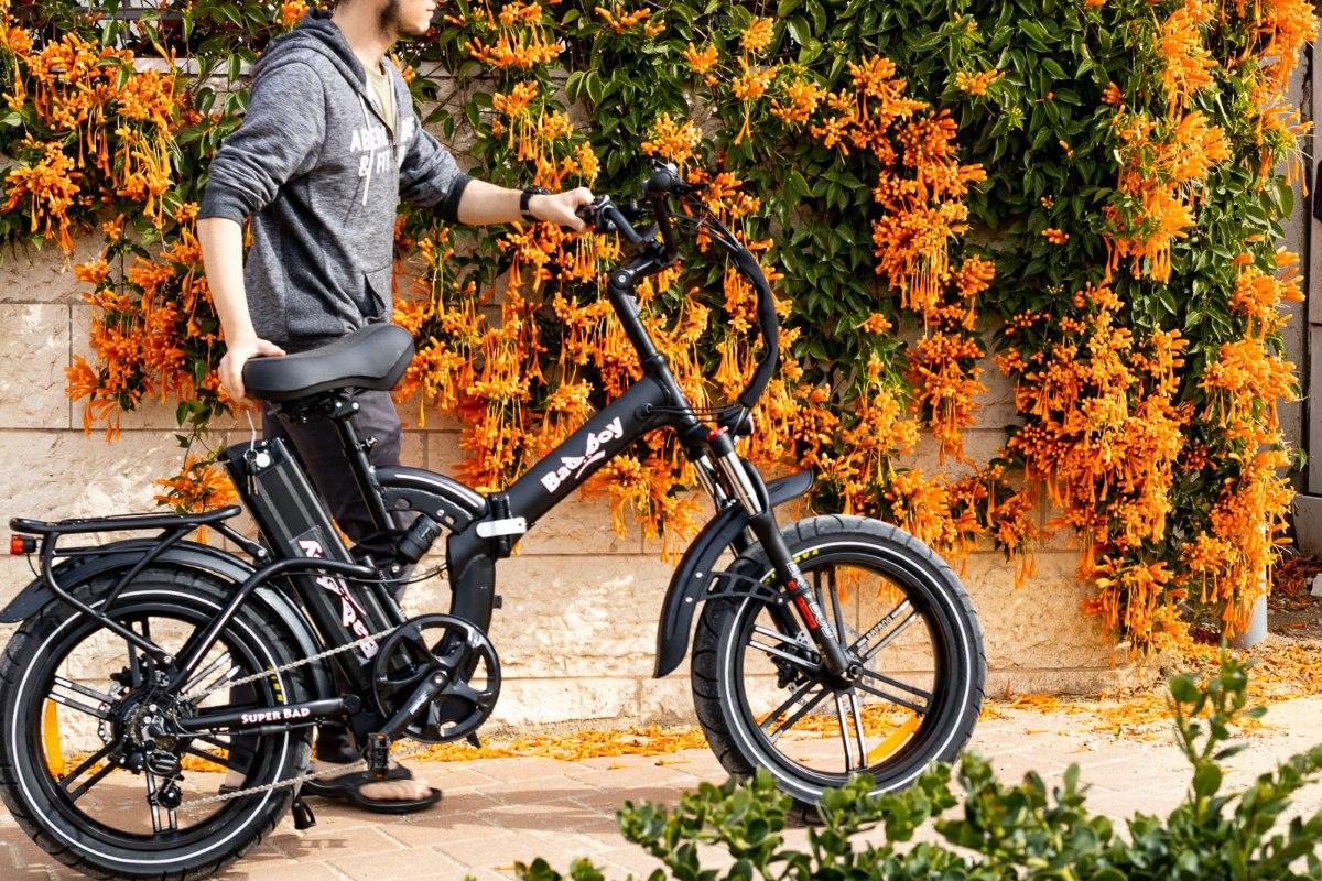 אופניים חשמליים BAD BOY 2021 48V/20Ah