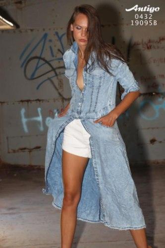 עליונית ג'ינס ANTIGO