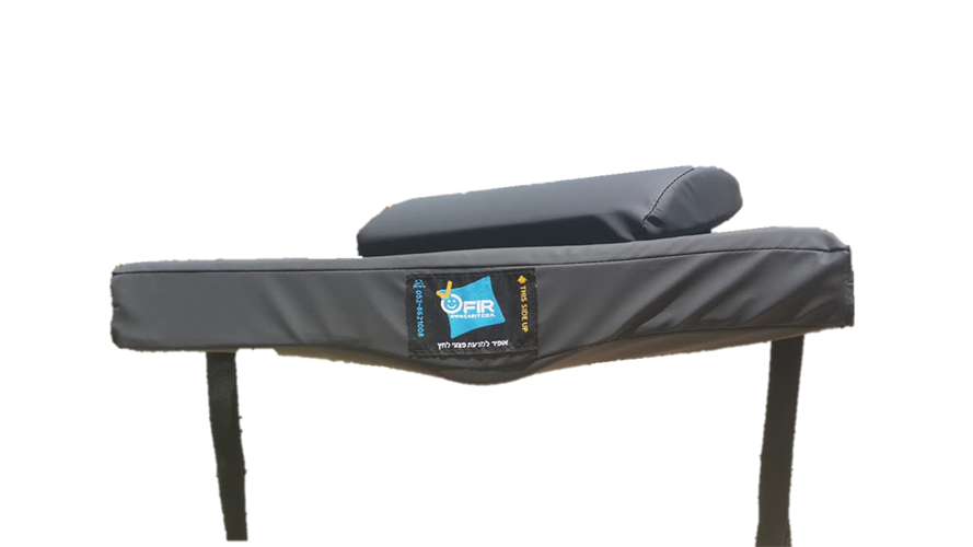 """כרית אופיר LOW PROFILE ליושבים ישיבה ממושכת (בגובה 5.5 ס""""מ)"""