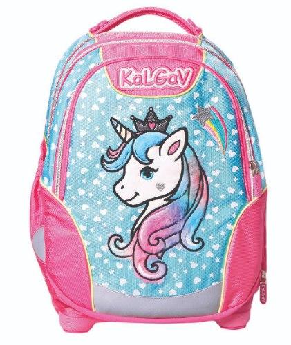 תיק ורוד/תכלת Schoolbag  Unicorn Classic