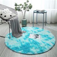 שטיחים עגולים מהממים בצבעי קפה בסגנון קטיפה - מומלץ!