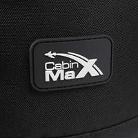 תיק גב עליה למטוס 55x35x20 CABIN MAX CANBERRA BLACK