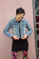 ג'קט ג'ינס משופשף שנות ה-70 מידה M
