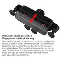 מחזיק סמארטפון לרכב - חדשני , קומפקטי ויציב!