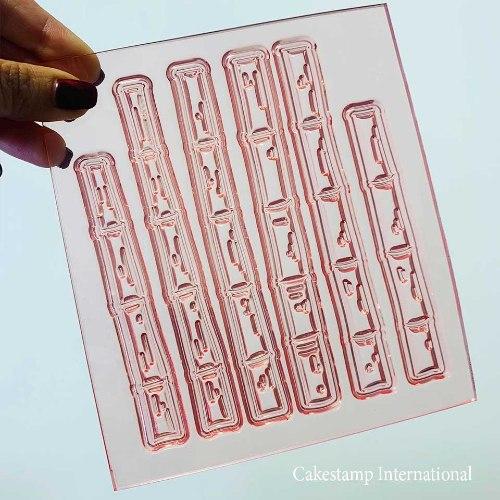 Set Of Bamboo Sticks | Flexible Polymer Mold