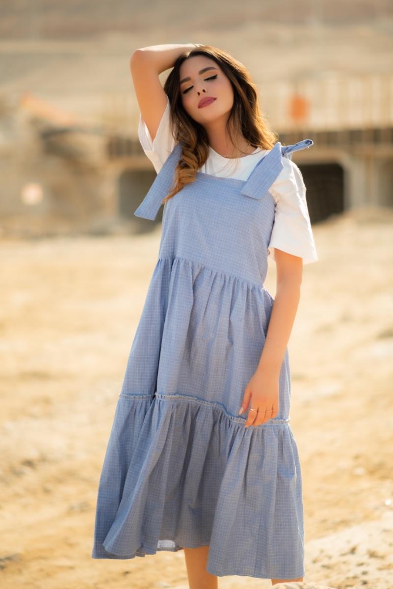 שמלת סרפן midi