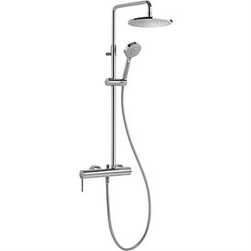 סוללה למקלחת MONO-TERM מנגנון ויסות אוטומטי כוללת מוט פינוק