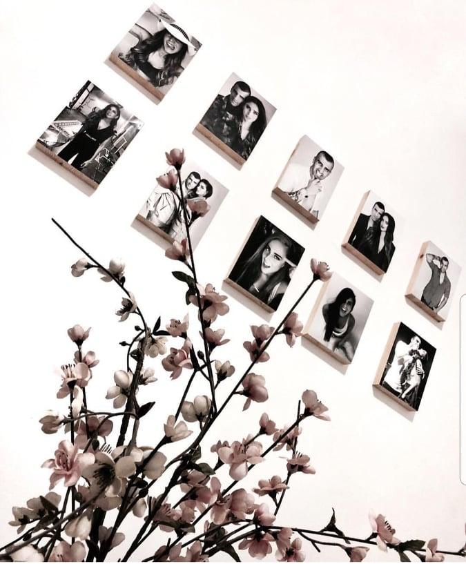 הקיר הקלאסי  - חדר השינה של הלן ורגב הוד
