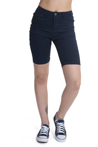 ג'ינס ברמודה כחול