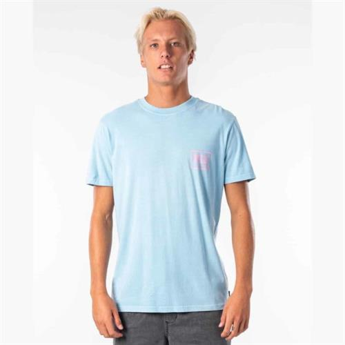 RIP CURL NATIVE GLITCH TEE BVR
