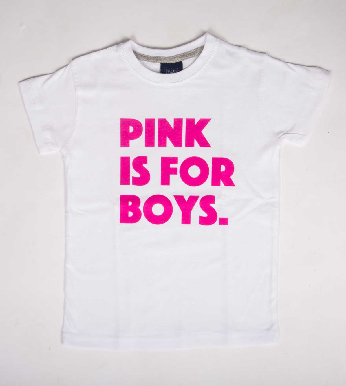 טי שירט לילדים Pink is for boys