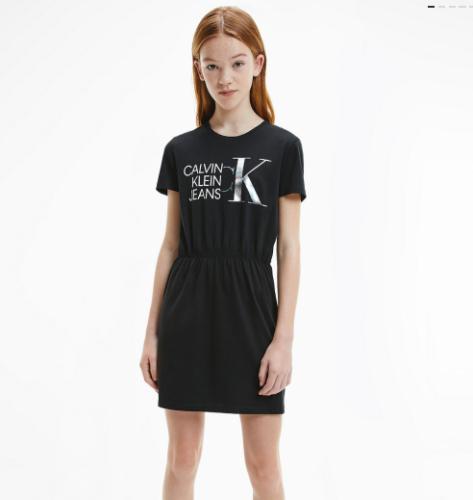 שמלת Calvin Klein שחורה - 4-16 שנים