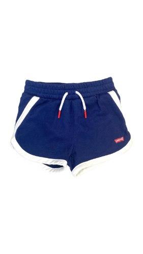 מכנס קצר כחול לוגו LEVIS
