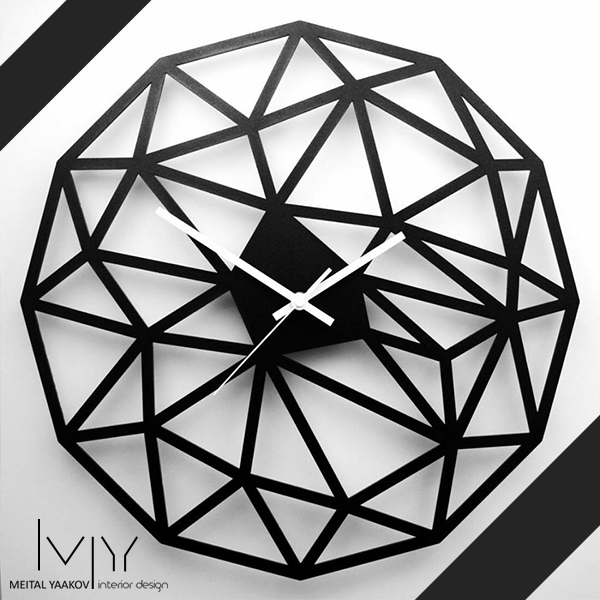 שעון מעוצב דגם אוריגמי