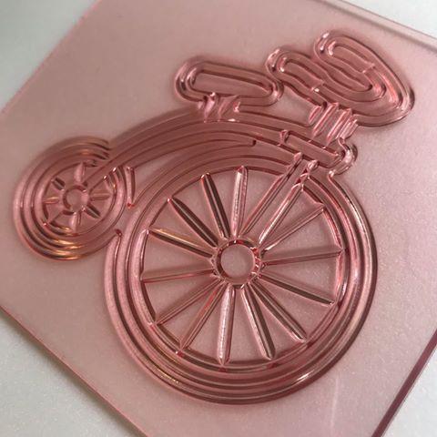 אופניים וינטאג'- חותמת