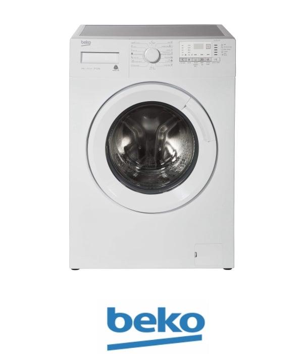 """beko מכונת כביסה 8 ק""""ג 1200 סל""""ד דגם WTV-8512BW"""