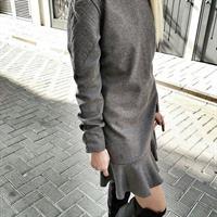 שמלת טיילור אפורה