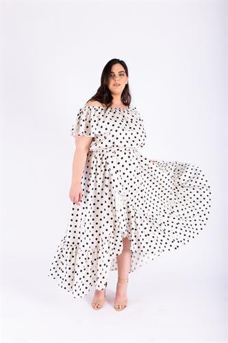 שמלת אנה נקודות