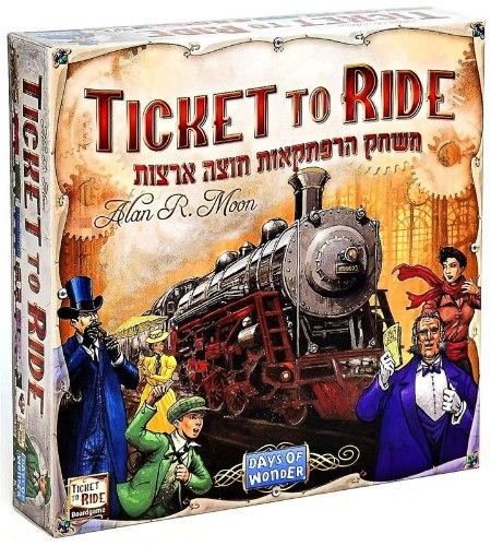 טיקט טו רייד - Ticket To Ride