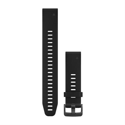 רצועה שחורה מקורית (גדולה במיוחד) לשעון Garmin Fenix 5s / 6s