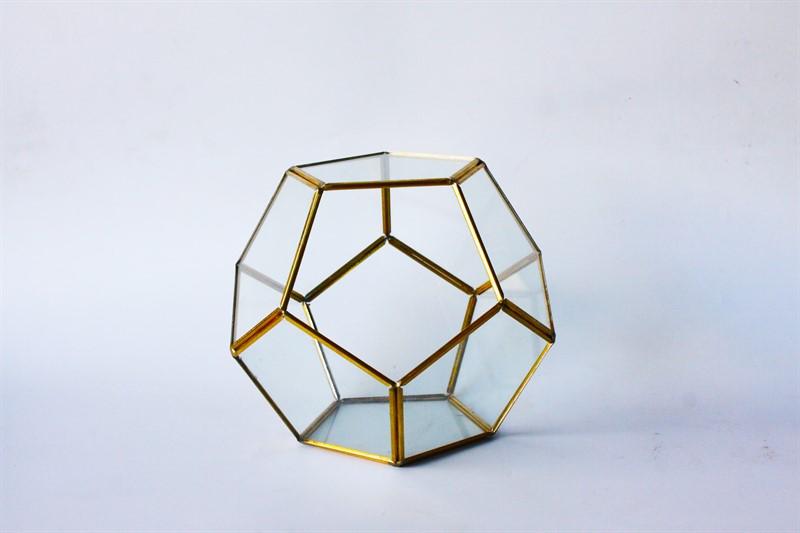 טרריום זכוכית-מחומש