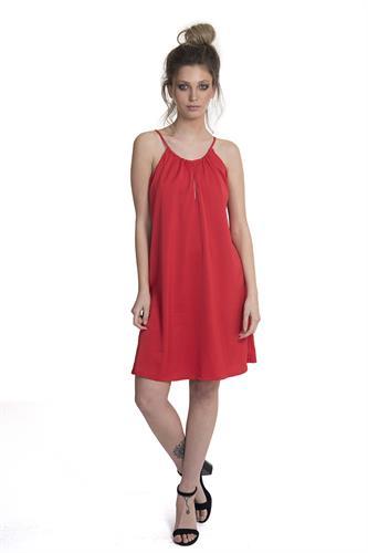 שמלה קים אדום