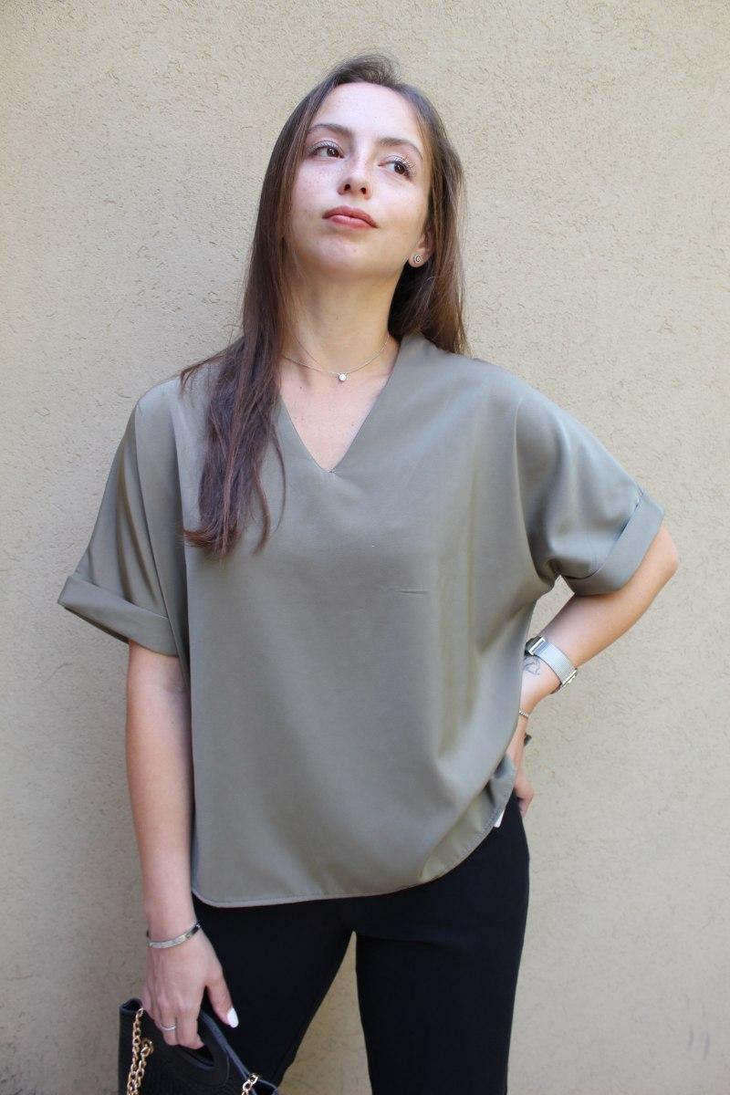 חולצת הלן ירוקה