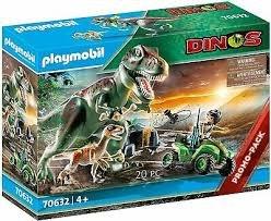 פליימוביל דינוזאור  Playmobil 70632J Dinos T-Rex Attack