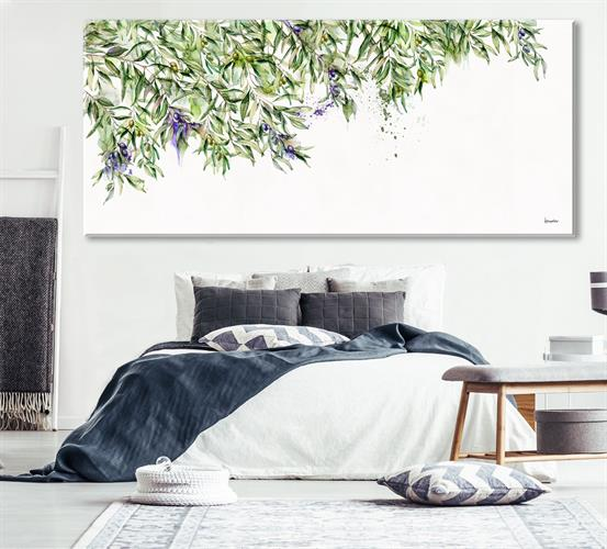 הדפס קנבס - עץ הזית