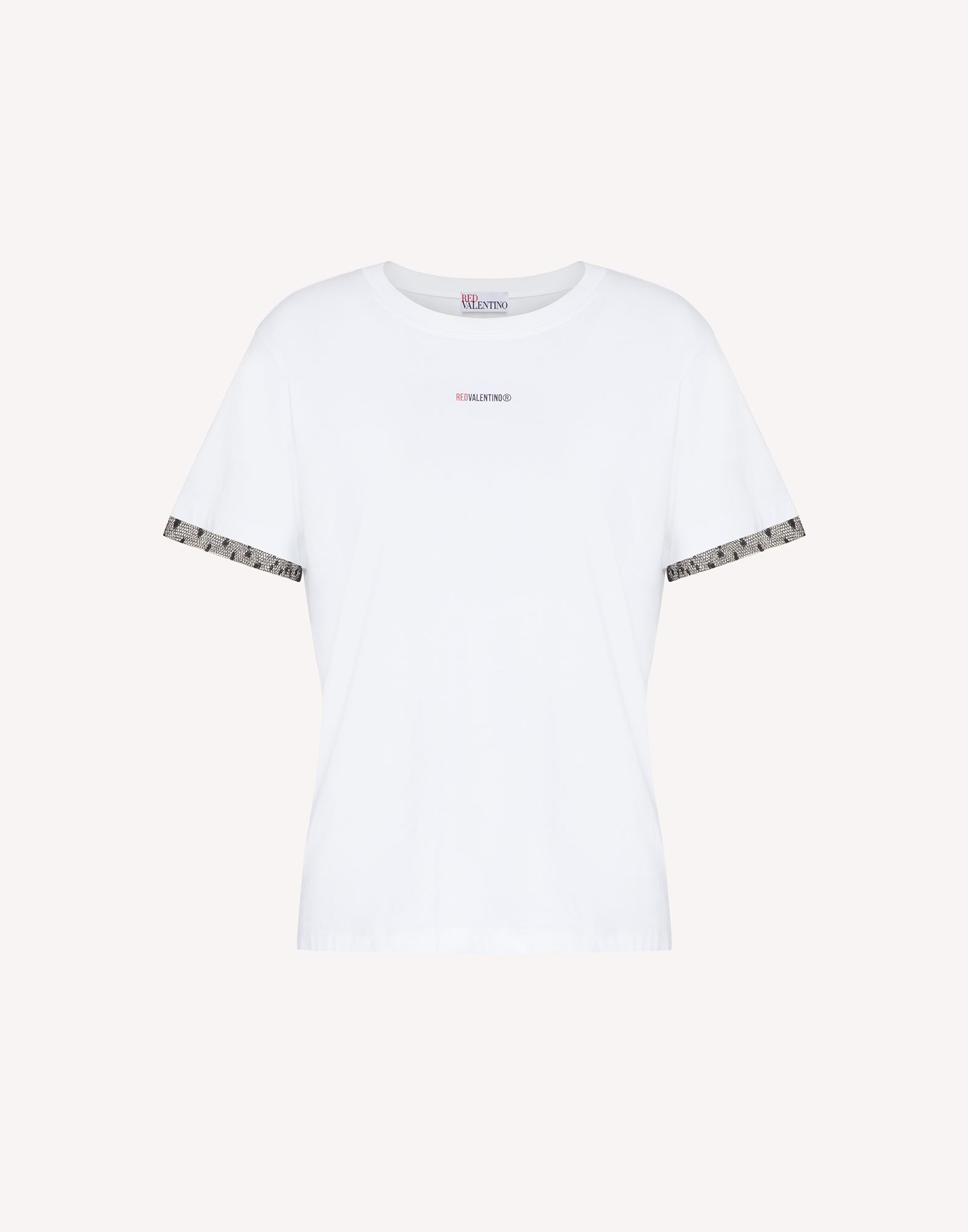 t-shirt red valentino הולצה