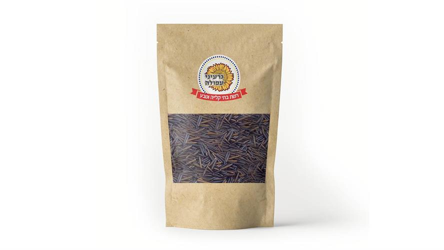 אורז בר שחור 500 גרם