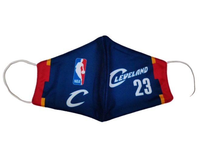 מסכת  פנים מעוצבת  קליבלנד NBA