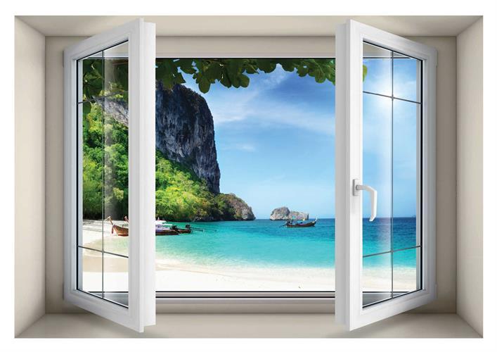 חלון בנישה דגם 5017