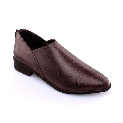 נעל עור פררה - חום