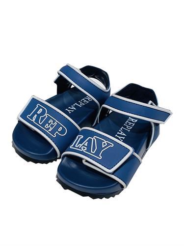 סנדל גומי REPLAY כחול רויאל 22-30