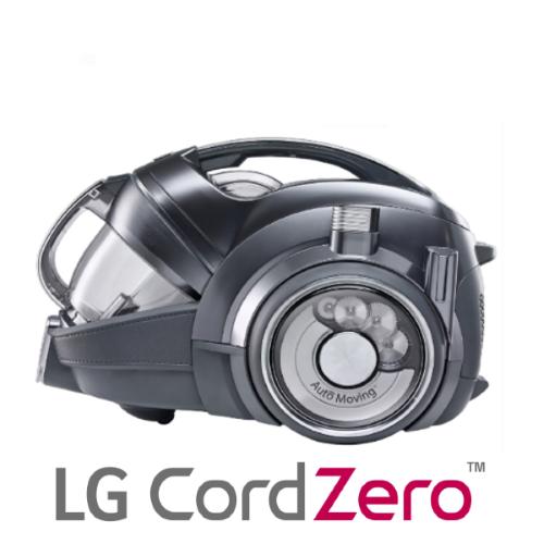 שואב אבק נטען אלחוטי LG CordZero RoboSense VR94070NHAQ